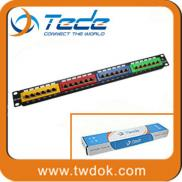 China Manufacturer Colorful Rj11 Rj45 Patch Panel Manufacturer