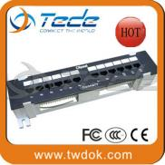 TEDE Cat6 24 Port Patch Panel Made In China Factor Manufacturer