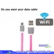 Whole Free Wifi Hotspot Micro Usb  Data Cable  For Manufacturer