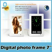7 Inch  Digital Photo Frame  With Clock For Displa Manufacturer