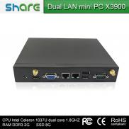 Dual Core Intel C1037U Mini Pc X3900,HD 2000 Graph Manufacturer
