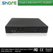 X86 Mini Pc With Intel Core C1037U Dual Core X3900 Manufacturer