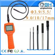 2.4inch 3.9mm/5.5mm Flexible Industrial Endoscope  Manufacturer