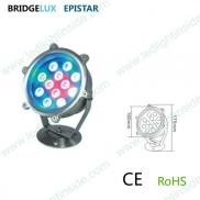 Ip68 Underwater  Fountain  Rgb Led  Lighting  12w Manufacturer