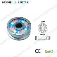 Ip68 Underwater Led  Fountain  Ring  Light  12w Manufacturer
