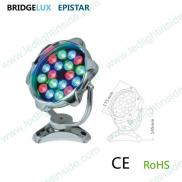 Ip68 Underwater Light Led Rgb 18w Manufacturer