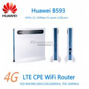 4G  LTE WiFi Huawei B593 LTE CPE  Router  With SI Manufacturer