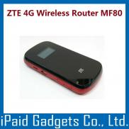 High Speed 21.6Mbps Portable Wireless ZTE  4G Rout Manufacturer
