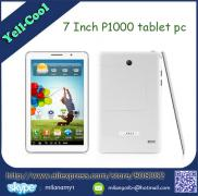 P1000 MTK6572 Tablet PC 7 Inch Android 4.2 3G GPS  Manufacturer