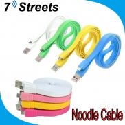 1M 2M 3M  Data Cable  Micro USB Colorful Noodle  C Manufacturer