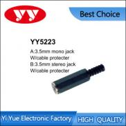 3.5mm Mono/stereo Jack W/cable Protecter Manufacturer