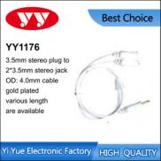 A/V Cable Kit Audio:2RCA Plugs To 2RCA Plugs/video Manufacturer