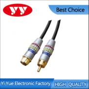Assembly Type RCA Plug To S-VHS Plug Metal Shell V Manufacturer
