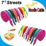 Blue 1 M 2m 3m Colorful Noodle  Cable  Micro Usb   Manufacturer