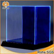 Clear Virtual Led Signs Box,lighted Ring Box Rotat Manufacturer