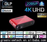 Full HD 3D DLP Projector,convert 2D To 3D Dlp Led  Manufacturer
