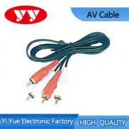 Good Quality 2rca Male To 2rca Male Av Cable Manufacturer