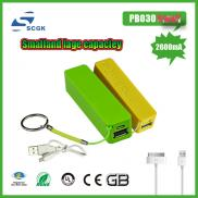 Nice Design Portable  Mobile  Power Bank Charger 2 Manufacturer
