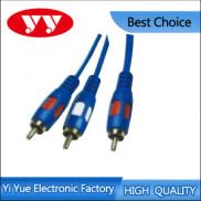 RCA Plugs To 2RCA Plugs Audio Interconect Cable Manufacturer