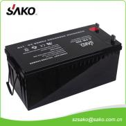 12V200AH Solar Maintenance Free Solar Battery With Manufacturer