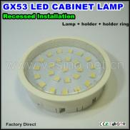 4w Led Gx53 Under Cabinet Fitting Recessed Mounted Manufacturer