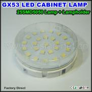 GX53 Led Lamp With Holder 25pcs SMD5050 Gx53L02F01 Manufacturer