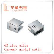 Zinc Alloy China Cabinet  Glass  Clips From  Glass Manufacturer