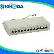12 Port CAT5E STP Patch Panel Manufacturer