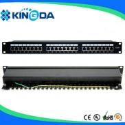 "19"" 24 Ports STP Patch Panel Manufacturer"