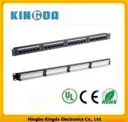 19 Inch Patch Panel 24 Port RJ- 45 Category 5e Manufacturer