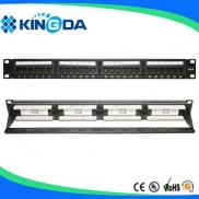 24/48 Port Cat6 Patch Panel Manufacturer