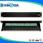 24/48Port Cat3 Patch Panel Manufacturer