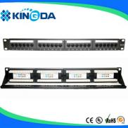 24 Port CAT5e 110-IDC UTP PATCH PANEL Manufacturer
