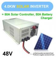 4000w Pure Sine Wave Inverter With Battery And Sol Manufacturer