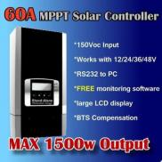 60A  MPPT Solar Charge Controller  Manufacturer