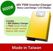 8000w 48v Pure Sine Inverter With Charger Manufacturer