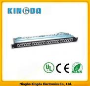 Cat5e 24 Port Krone Rj45 Patch Panel Manufacturer