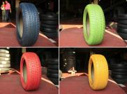 China Cheap Tyre Radial Color Tires For Cars Manufacturer