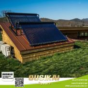 Flat  Plate  Solar Collector  With Heat Pipe Copp Manufacturer