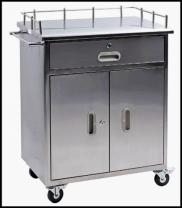 Hospital Stainless Anesthesia Supply Cart RT-014B- Manufacturer