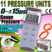 Professional Digital Differential Air Pressure Man Manufacturer