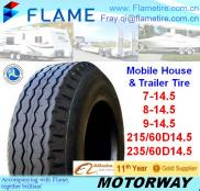 Trailer Tires Mounted Heavy Duty Low Platform Trai Manufacturer