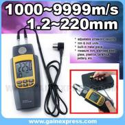 Ultrasonic Thickness Meter Measure Velocity Metal  Manufacturer