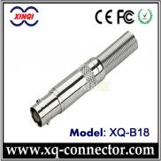 Coaxial Cable  Connector BNC Jack To TNC Plug Ada Manufacturer