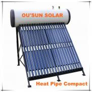 Compact Heat Pipe Solar Water Home Heater Manufacturer