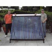Hot Sale 24tube Inclined Roof Solar Energy Collect Manufacturer