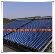 Pressurized Solar Collector With Heat Pipe Manufacturer