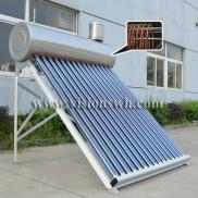 Thermosiphon Copper Coil Pressurized  Solar Water  Manufacturer