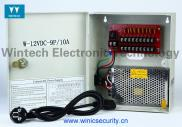Wintech 12V DC 9 Channels CCTV Power Box Manufacturer