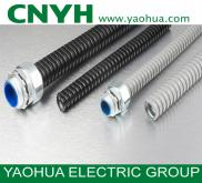 PVC Coated Rigid Flexible Corrugated Metal Pipe Fo Manufacturer